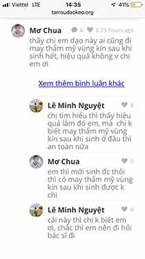 Bệnh viện thẩm mỹ Ngô Mộng Hùng thẩm mỹ vùng kín có tốt không