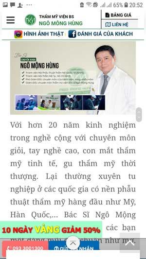 dụng cụ nâng mũi tại Hà Nội